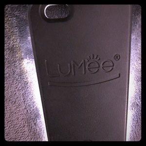 LuMee Original Phone Case, Black | LED Lighting